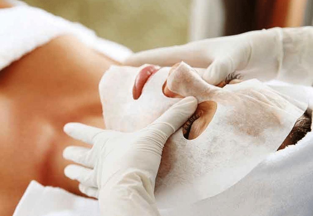 Применение маски для карбокситерапии