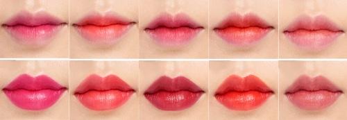 тинт на губах