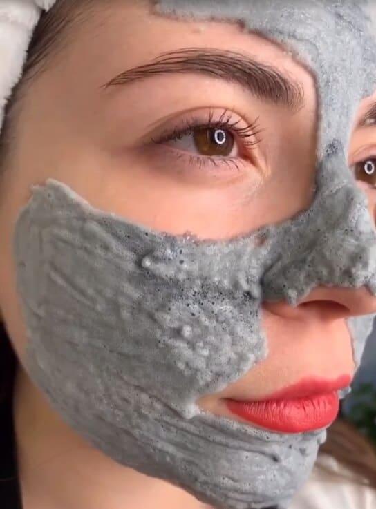 пузырьковая маска на коже