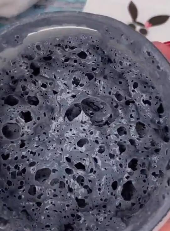 текстура пузырьковой маски