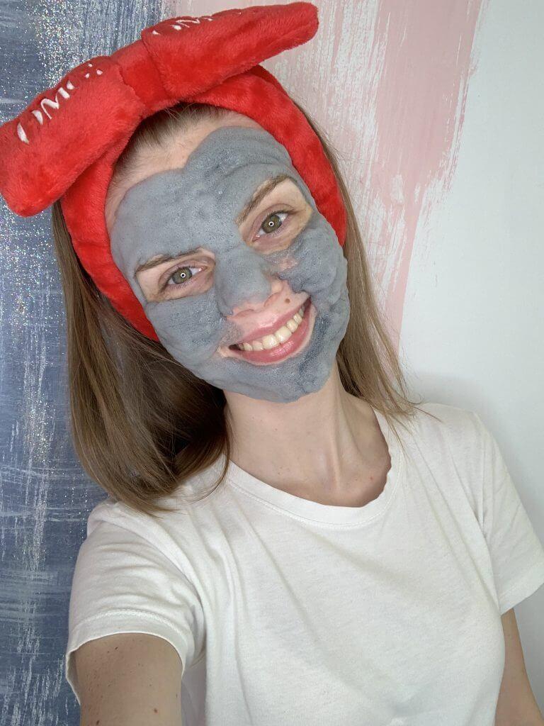 применение пузырьковой маски