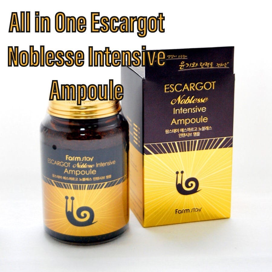 сыворотка All In One Escargot Noblesse Intensive Ampoule