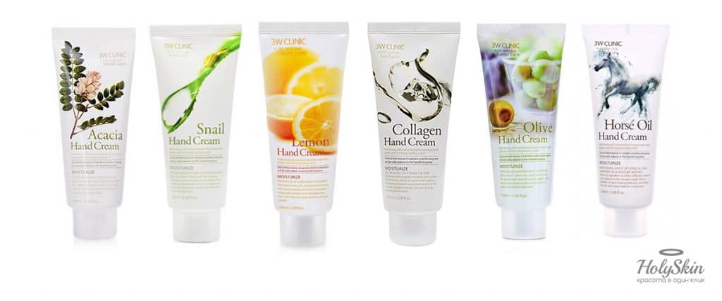 3W Clinic Hand Cream