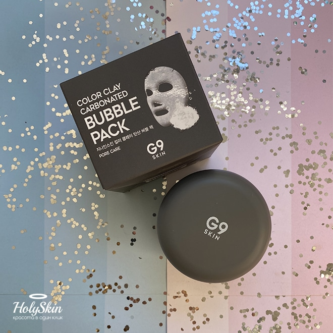 Bubble-маска G9 Skin Color Clay Carbonated Bubble Pack