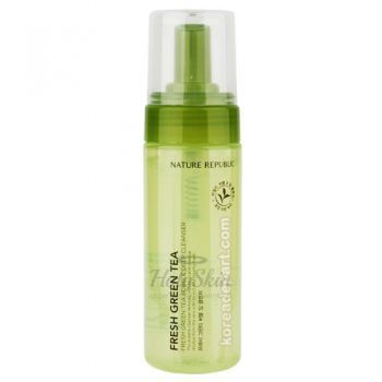Fresh Green Tea Bubble Deep Cleanser