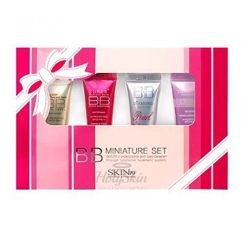 Mini BB Cream Pink Set Skin79