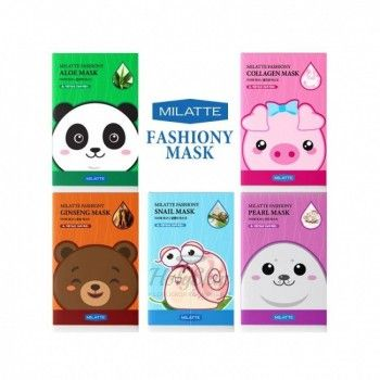 Fashiony Mask Sheet Milatte купить