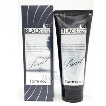 Black Snail Deep Cleansing Foam Farmstay купить