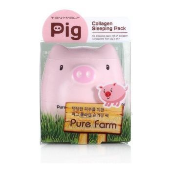 Pure Farm Pig Collagen Sleeping Pack Tony Moly
