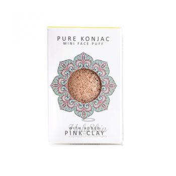 Pure Konjak Mini Face Puff French Pink Clay