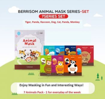 Animal Mask Series 7p Set отзывы