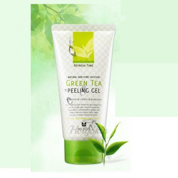 Refresh Time Green Tea Peeling Gel Mizon отзывы