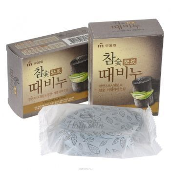 Hardwood Charcoal Scrub Body Soap Mukunghwa купить
