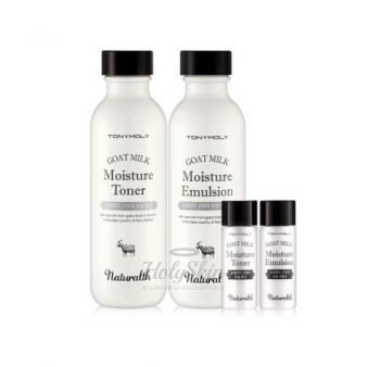 Naturalth Goat Milk Moisture Skin Care Set Tony Moly