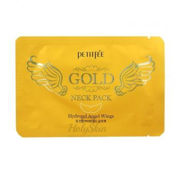 Angel Wings Gold Neck Hydrogel Pack