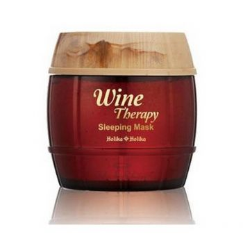 Wine Therapy Sleeping Mask ( Red Wine) Holika Holika
