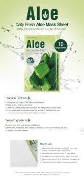 Daily Fresh Mask Sheet Aloe отзывы