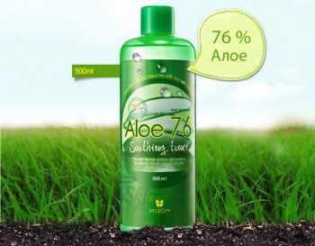 Aloe 76 Soothing Toner Mizon отзывы