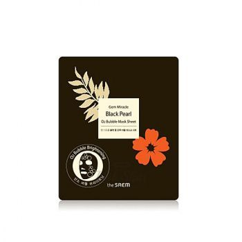 Gem Miracle Black Pearl O2 Bubble Mask Sheet купить