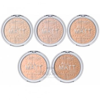 All Matt Plus Shine Control Powder Catrice отзывы
