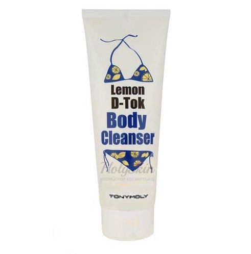 Lemon D-Tok Body Cleanser Tony Moly купить