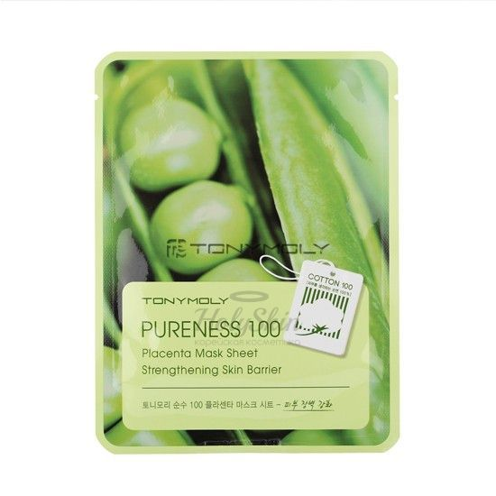 Pureness 100 Placenta Mask Sheet Tony Moly отзывы