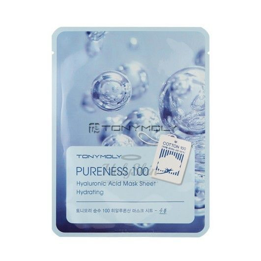 Pureness 100 Shea Hyaluronic Acid Mask Sheet Tony Moly купить