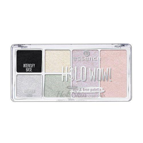 Купить Палетка для макияжа лица Essence, Holo WOW! Eye and Face Palette, Германия