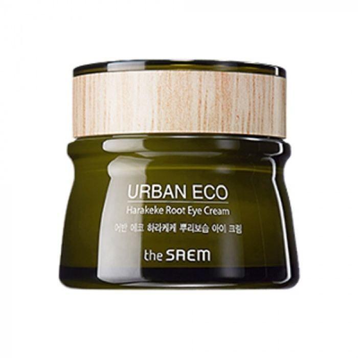Купить Крем для глаз с экстрактом корня новозеландского льна The Saem, Urban Eco Harakeke Root Eye Cream, Южная Корея