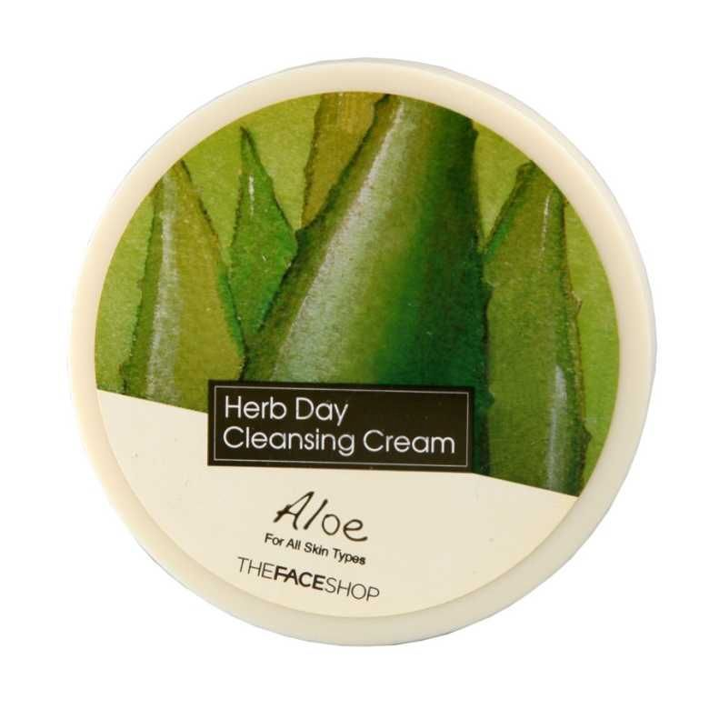 Herb Day Cleansing Cream Aloe The Face Shop