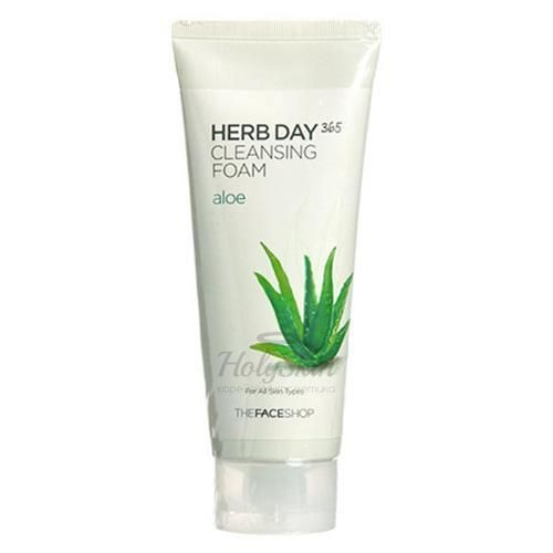 Herb Day 365 Cleansing Foam Aloe The Face Shop отзывы
