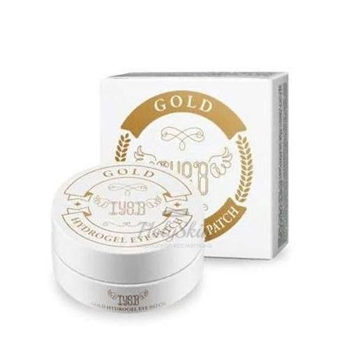 Купить Гидрогелевые патчи под глаза с золотом Iyoub, Hydrogel Eye Patch Gold, Южная Корея