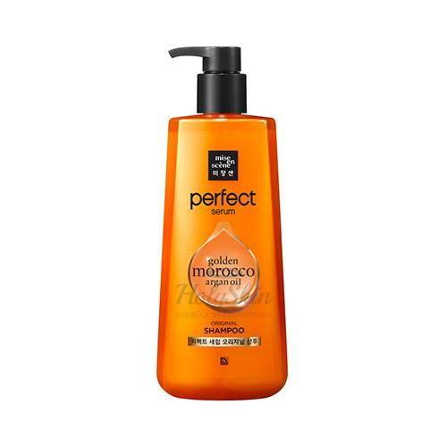 Питательный шампунь для поврежденных волос MISE EN SCENE PERFECT SERUM ORIGINAL SHAMPOO 680ML