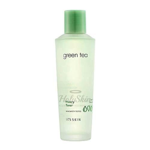 Купить Тонер для очищения кожи с экстрактом зеленого чая. It's Skin, Green Tea Watery Toner, Южная Корея