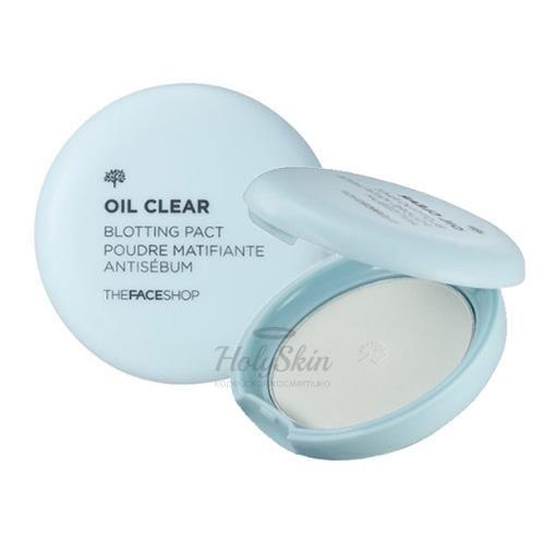 Купить Компактная пудра The Face Shop, Oil Clear Blotting Pact, Южная Корея