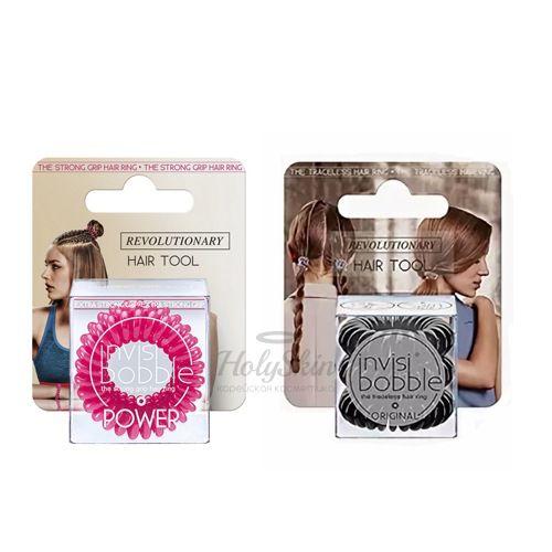 Набор розовых резинок для волос Invisibobble Original Special Box фото