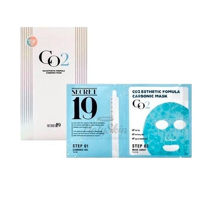 Купить Маска для карбокситерапии Esthetic House, CO2 Esthetic Formula Carbonic Mask 1p, Южная Корея