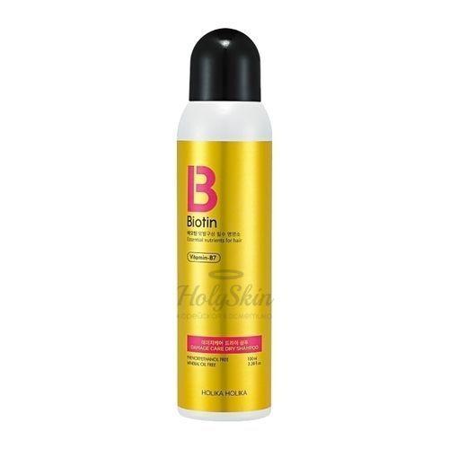 Купить Сухой шампунь для волос Holika Holika, Biotin Damage Care Dry Shampoo, Южная Корея