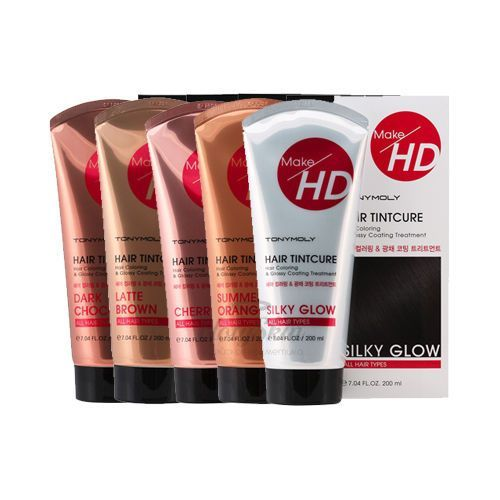 Make HD Hair Tint Cure Tony Moly отзывы