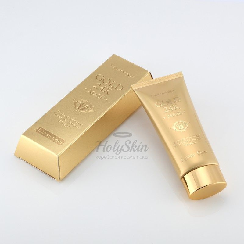 Luxury Gem gold 24K Mask description