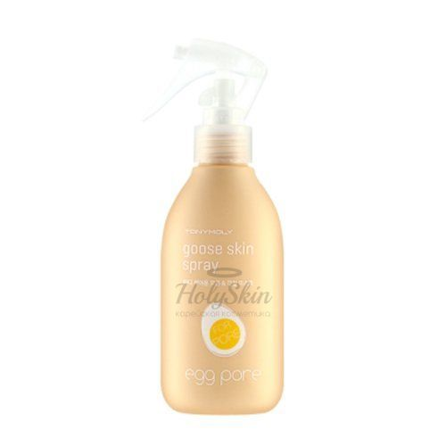 Egg Pore Goose Skin Spray description