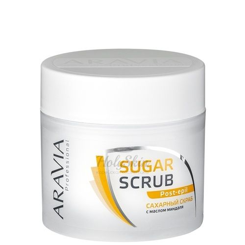 Сахарный скраб после депиляции Aravia Professional — Aravia Professional Сахарный скраб