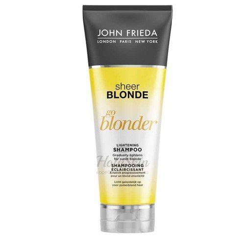 Шампунь для устранения желтого оттенка осветленных волос John Frieda