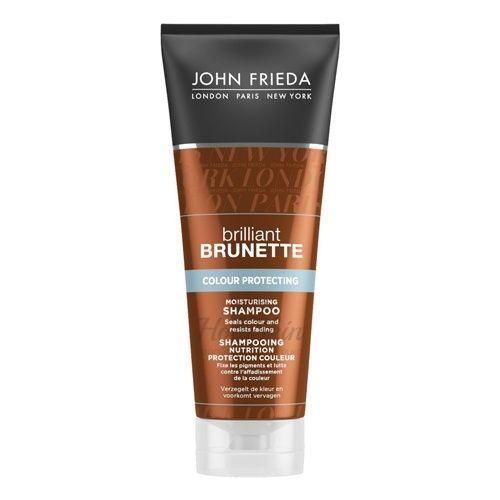 Увлажняющий и восстанавливающий шампунь для темных волос John Frieda