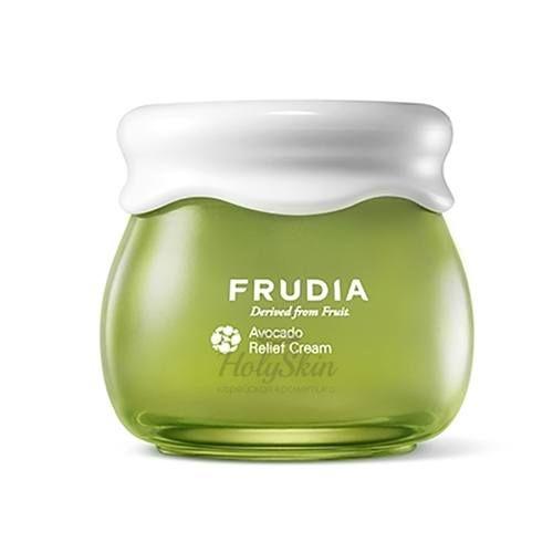 Купить Восстанавливающий крем для лица с экстрактом авокадо Frudia, Avocado Relief Cream, Южная Корея