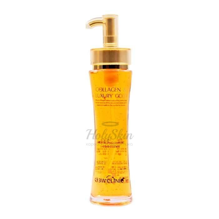 Купить Эссенция для ухода за кожей лица и тела 3W Clinic, Collagen and Luxury Gold Revitalizing, Южная Корея
