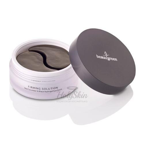 Купить Гидрогелевые патчи BeauuGreen, Hydrogel Sea Cucumber and Black Eye Patch Premium Pack, Южная Корея