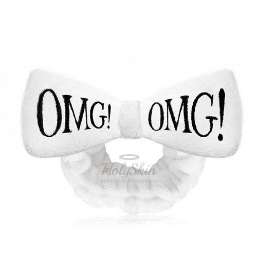 Повязка косметическая для волос белая Double Dare OMG! — Hair Band White