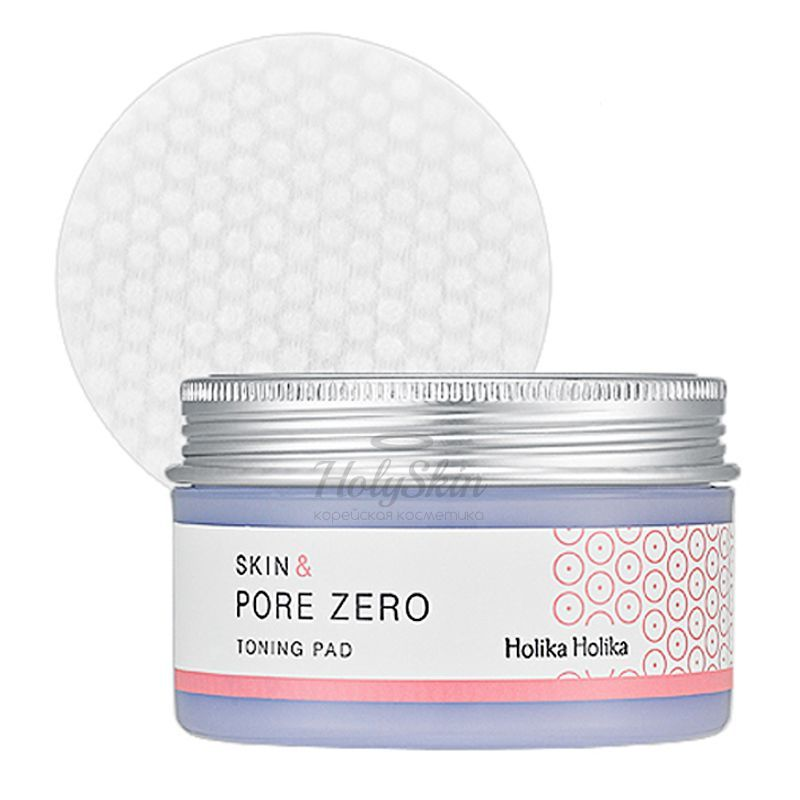 Skin and Pore Zero Toning Pad Holika Holika