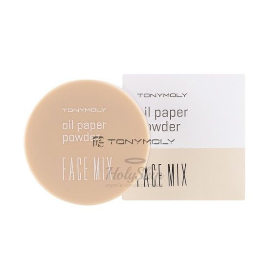Face Mix Oil Paper Powder Tony Moly отзывы